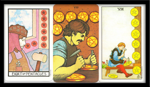 Eight Of Pentacles Meaning
