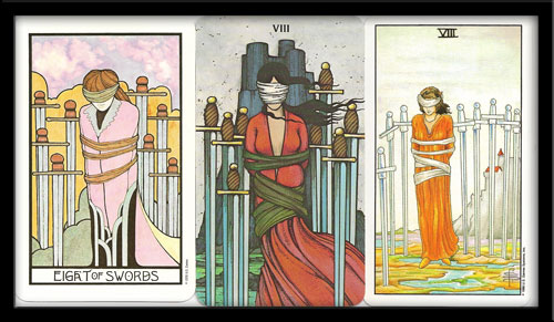 Eight Of Swords Meaning