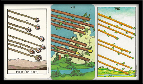 Eight Of Wands Tarot Meaning