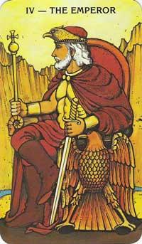 Emperor Tarot Card Meanings