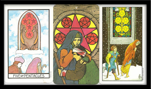 Five Of Pentacles Meaning