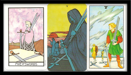 Five Of Swords Meaning