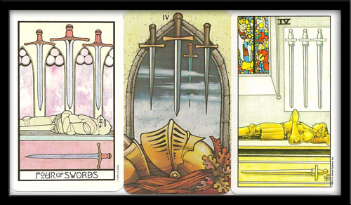 Four Of Swords Meaning
