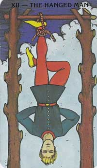 Hanged Man Tarot Card Meanings