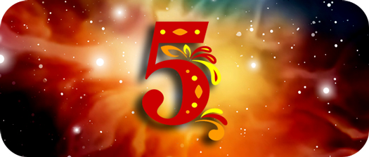 meaning of five in tarot