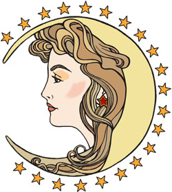 Moon Signs in Tarot