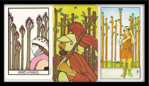 Nine Of Wands Meaning