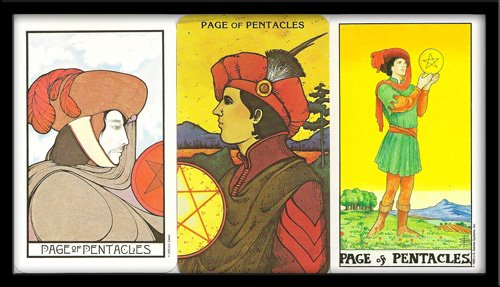 Page Of Pentacles Meaning
