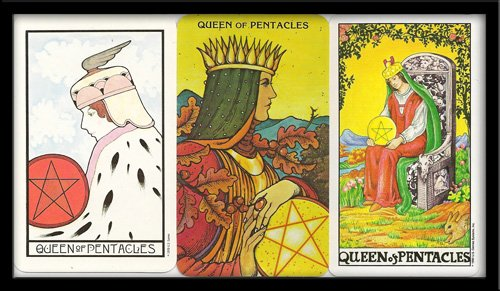 Queen Of Pentacles Meaning