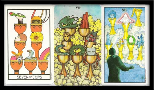Seven Of Cups Meaning
