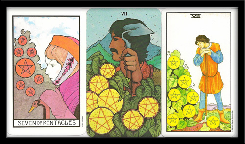 Seven Of Pentacles Meaning