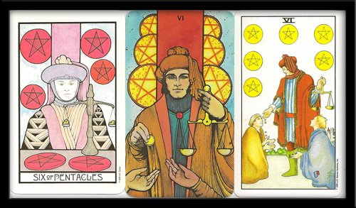 Six Of Pentacles Meaning