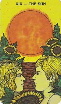 Sun Tarot Card Meanings