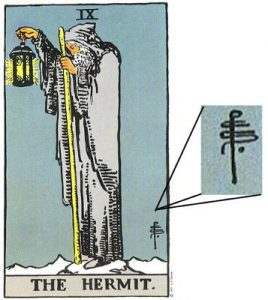 Symbol on Rider-Waite Tarot Cards
