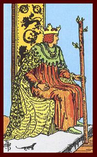 Tarot Kings as Fathers