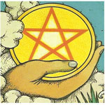 meaning of tarot pentacles