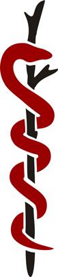 Tarot Symbols Staff Caduceus Asclepius