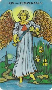 Temperance Tarot Card Meanings