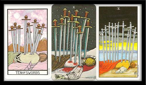 Ten of Swords Meaning in Tarot