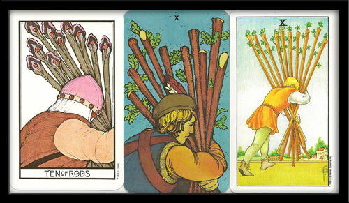 Ten of Wands Meaning in Tarot