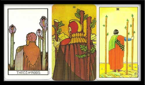 Three of wands meaning in Tarot