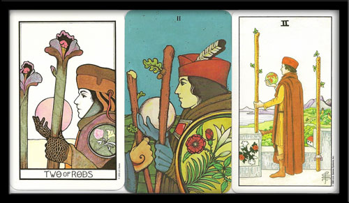 Two of Wands meaning in Tarot