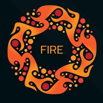 Understanding Tarot Suits with Elements-Fire